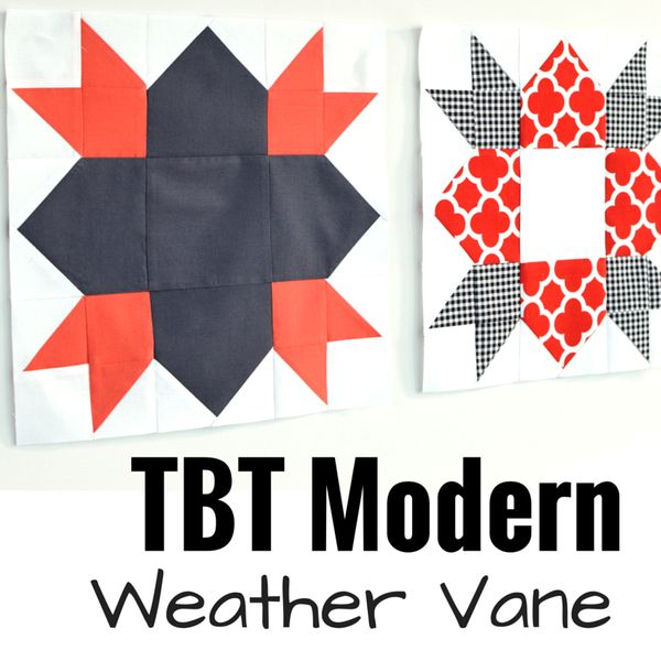 Riley Blake Designs Blog: TBT Modern: Weather Vane   tutorial