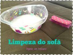 Organize sem Frescuras | Rafaela Oliveira » Arquivos » Como limpar o sofá