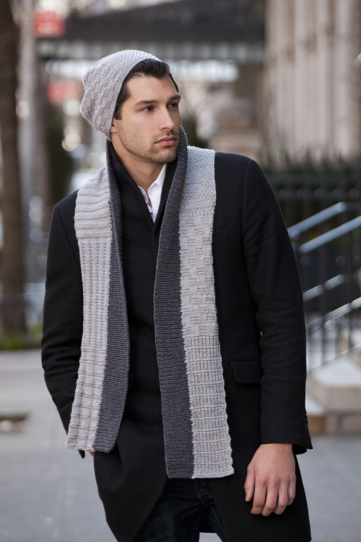 Treviso Men's Scarf & Hat in ZARA  http://tahkistacycharles.com/t/pattern_single?products_id=1761    http://www.ravelry.com/patterns/library/treviso-mens-scarf