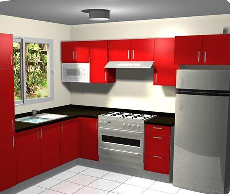 Pin de carmen jooste en 2 bedroomed apartment plans for Azulejos para cocina pequena
