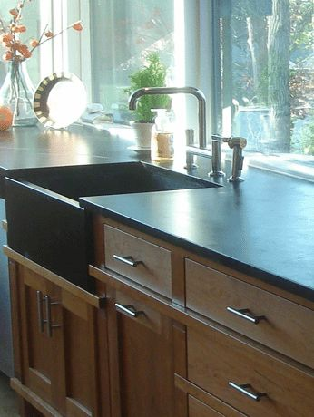 Chicago wright sink with soapstone countertops http for Bathroom supply chicago