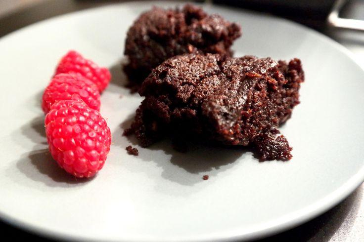 Brownies kokosmel