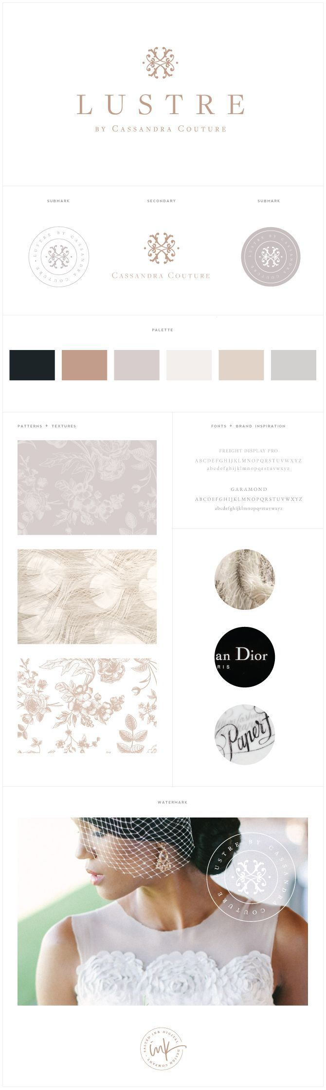 Courtney: Don't mind the color palette. I am pinning this for the patterns. These are really pretty and sophisticated patterns. Not sure if we will use patterns in the website, but these are very pretty.