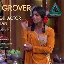 Sunil Grover aka Gutthi is our exclusive artist. book at :- booking@aouraa.com