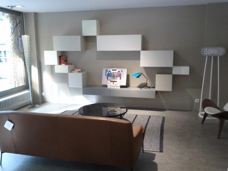 Composición 36e8 de Lago. Muebles de diseño.