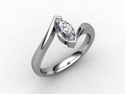 07-0100-0001 Diamond Ring Image - 01