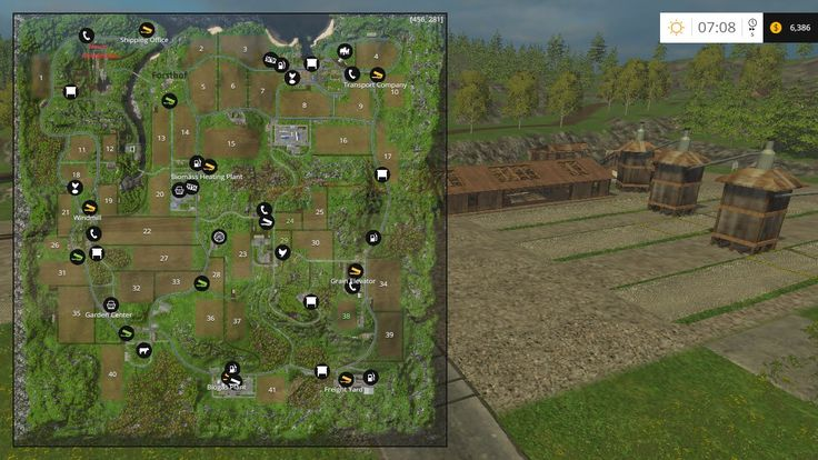 bjornbach map farming simulator 15 mod s01e188 farming simulator pinterest. Black Bedroom Furniture Sets. Home Design Ideas
