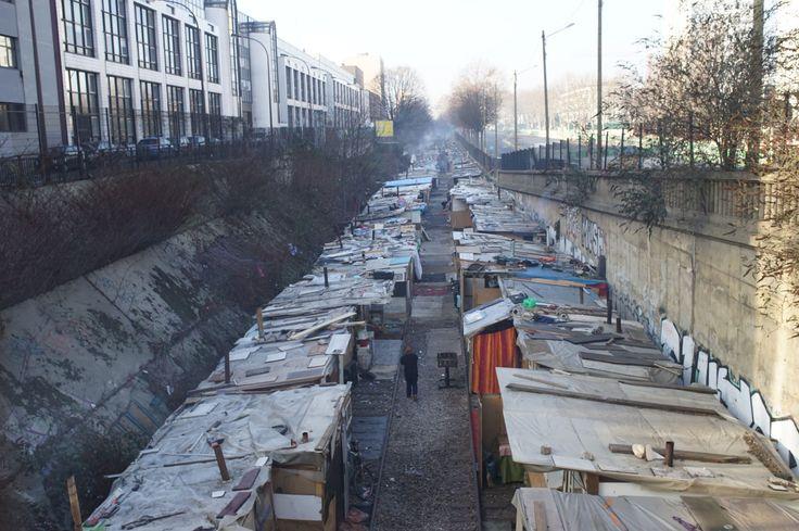 «Le démantèlement des bidonvilles Roms coûte cher à la collectivité» #fslchat #fle #APFrench