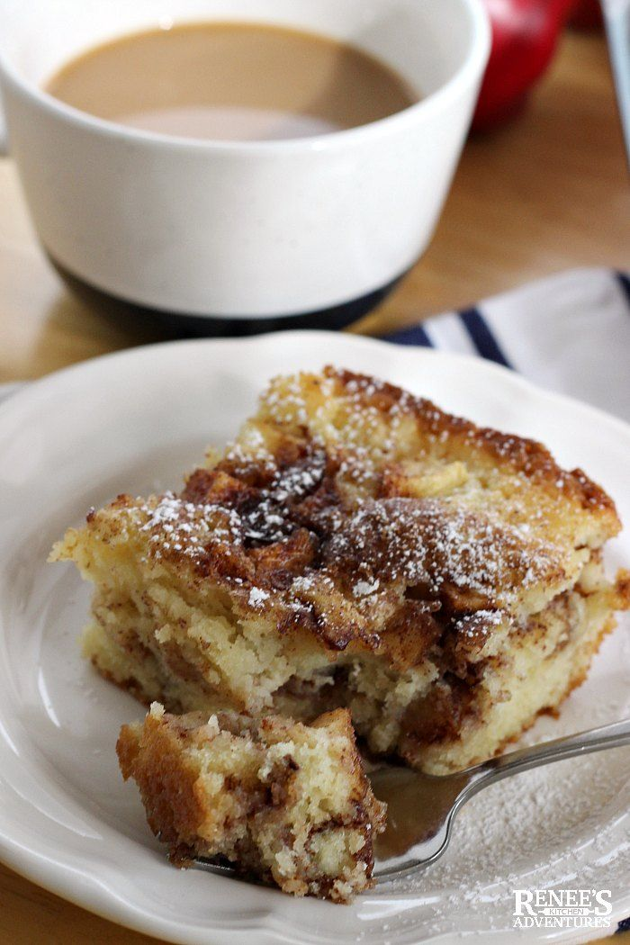 Apple Cinnamon Coffee Cake Is An Easy Recipe For A Fresh Apple Coffee Cake Made With Buttermilk That S Gre Apple Recipes Buttermilk Dessert Recipes Coffee Cake