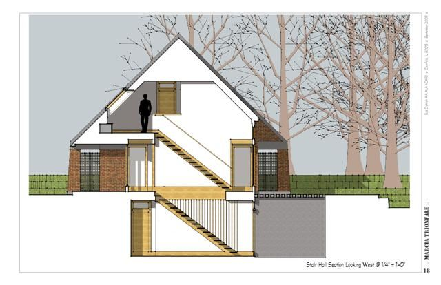 Section By Bud Dietrich Architectural Drawings And