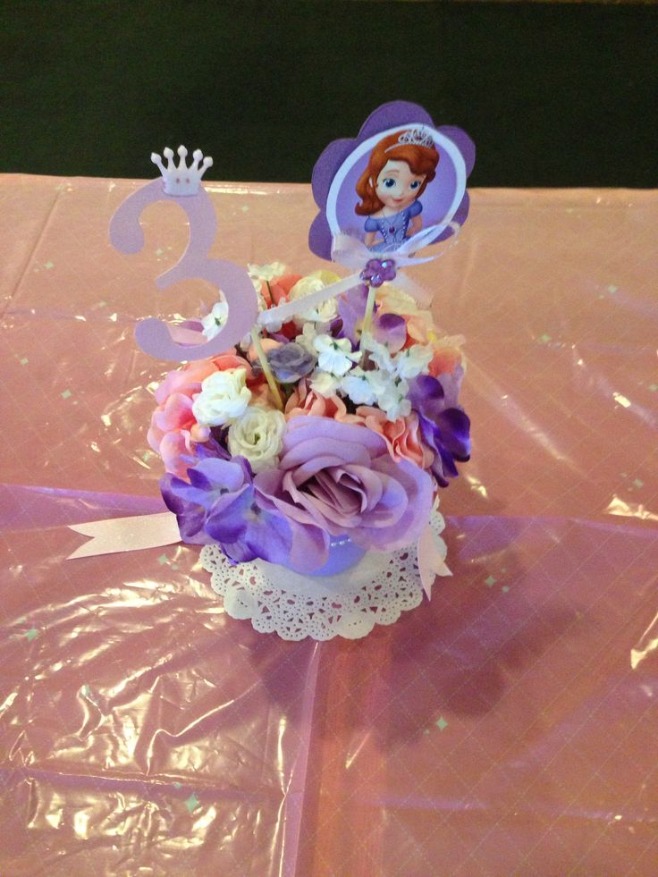 Sofia the first centerpieces - 107 Best Sophia The First Images On Pinterest Birthday Party