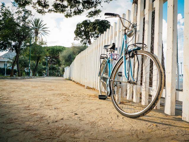 EyeEm Market #bike #beach #palermo #mondello #parking #autumn