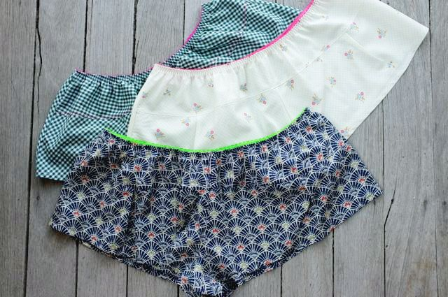 trio of The Jane Knickers - a pdf sewing pattern by Measure Twice Cut Once