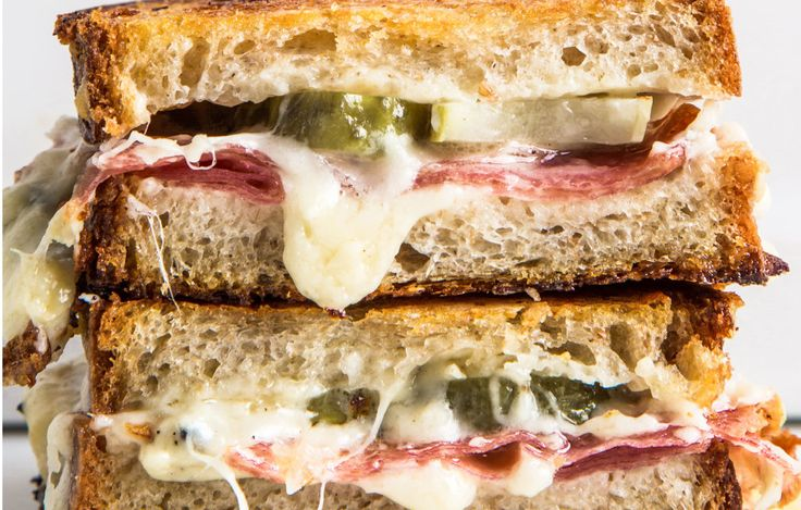 This sandwich can be lunch, a snack, or a late-night thing. Eat it with potato…