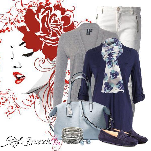 Jednoduchý a štýlový outfit ... :) Páči ... :) #fashion #outfit #brands4u