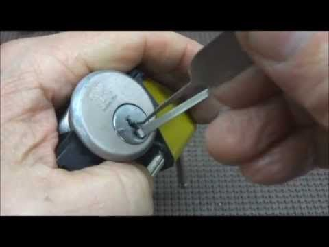 (141) PPG Industries Mortise Cylinder SPP'd, Zipped & Rocked - YouTube