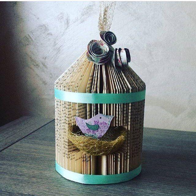 Bellissima gabbietta !!! By @laura.silvia84 ❤️❤️❤️ #crafts#handmade#fattoamano#riciclo#riciclocreativo#recycle#denim#jeans#crochet#tricot#artigianato#artesanato#lovehandmade#cucito#cucitocreativo#sew  Vi ricordo i nostri tag #creativemamy creativity  #creativemamyfood cibo e bevande  #creativemamytravel viaggi creativi  Usali e potrai entrare nella nostra gallery