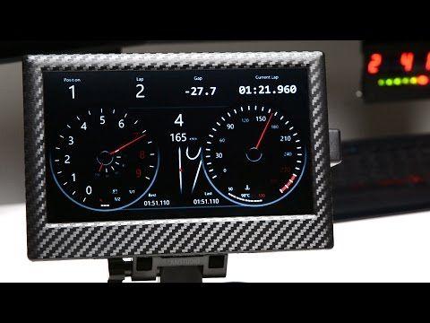 DIGITAL DASH DISPLAY SIM RACING DIY - YouTube | Sim Racing