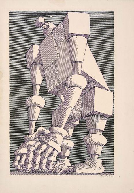 "Daniel Mroz- illustrations for Stanislaw Lem ""Cyberiada"""