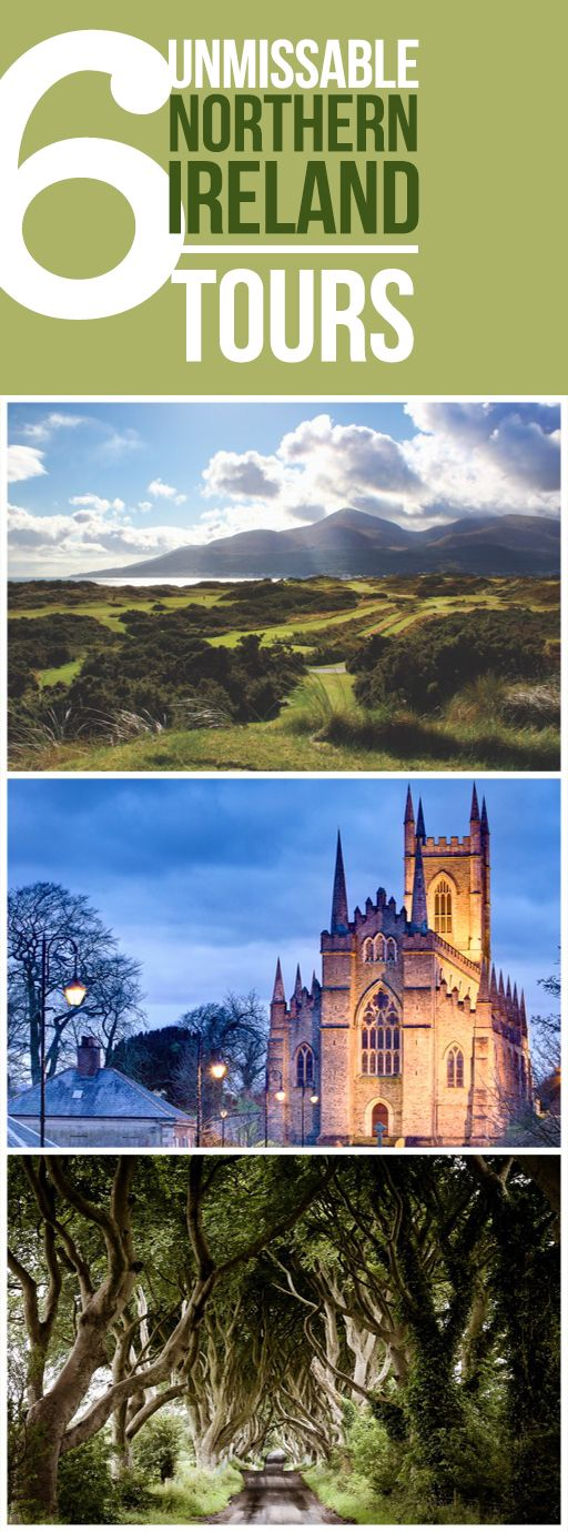 You might know Belfast, but Northern Ireland is a treasure trove of so much more than that beautifully bustling city! We have the best golf course in the world at Royal County Down – just ask Golf Digest, who voted it #1! There's the food trail in honor of the delicious culinary culture of this wonderful destination; a path that follows St Patrick's footsteps; and even a journey through the Game of Thrones® locations across Northern Ireland. There's an adventure here for anyone willing to…