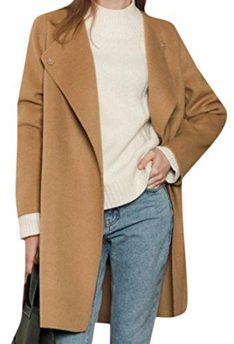New Trending Outerwear: Tootless Womens Fashion Solid Colored Long Sleeve Trench Coat Camel OS. Tootless Women's Fashion Solid Colored Long Sleeve Trench Coat Camel OS  Special Offer: $21.71  300 Reviews Attention: China size, not US size. Please check the size measurement below carefully before you buy the item. The customer satisfied is very important for us. If you have...