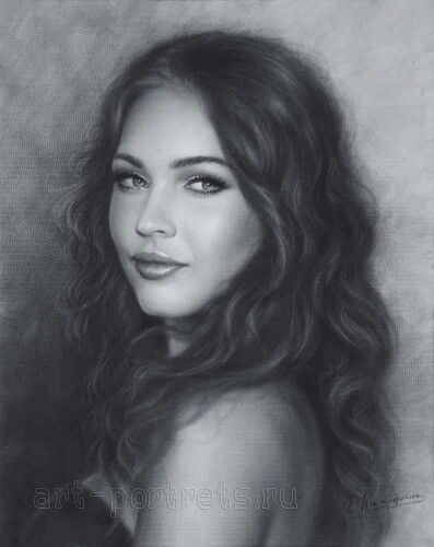 Beautiful Megan fox by artist Igor Kazarin
