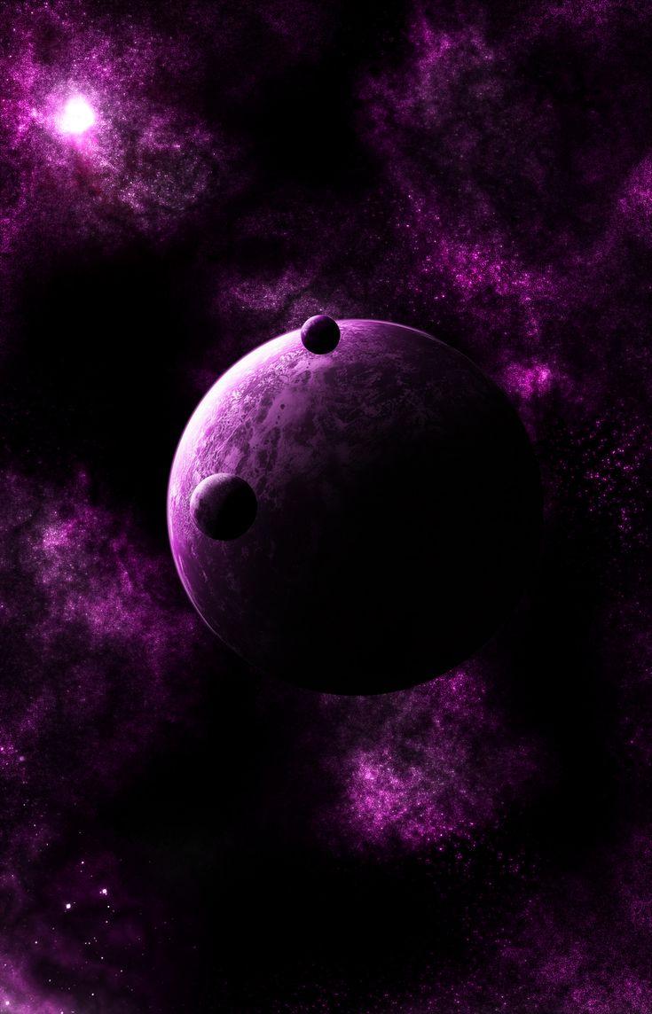 Color art digital - Purple Fantasy By Phoboske Deviantart Com Favorite Colorplumart