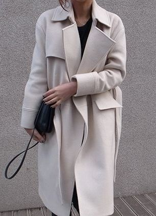 long oversized trench