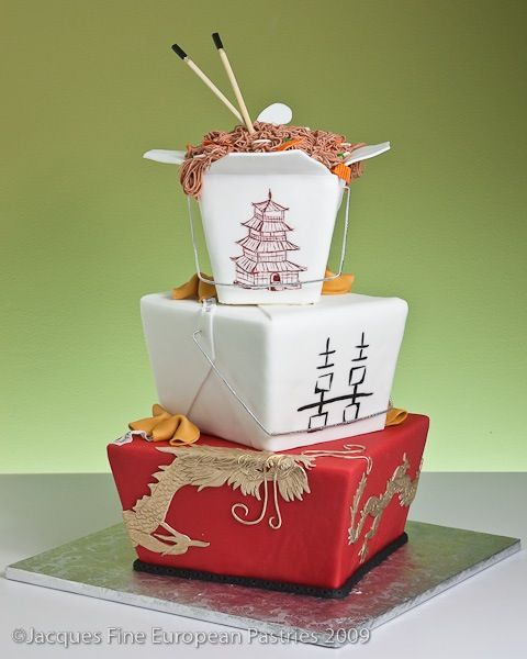 Chinese Takeout Cake