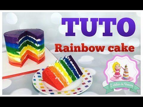 Rainbow Cake L Atelierde Roxane