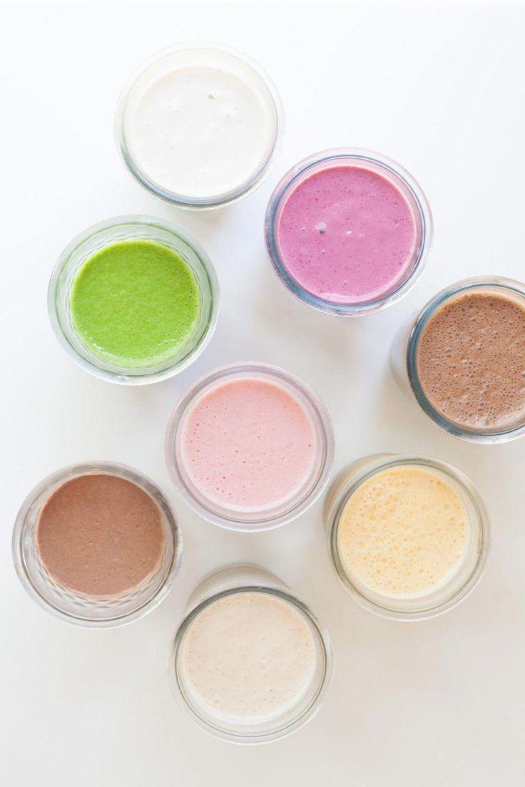 9 Smoothies als Grundnahrungsmittel, die Sie zubereiten sollten #smoothie   – smoothie ideas