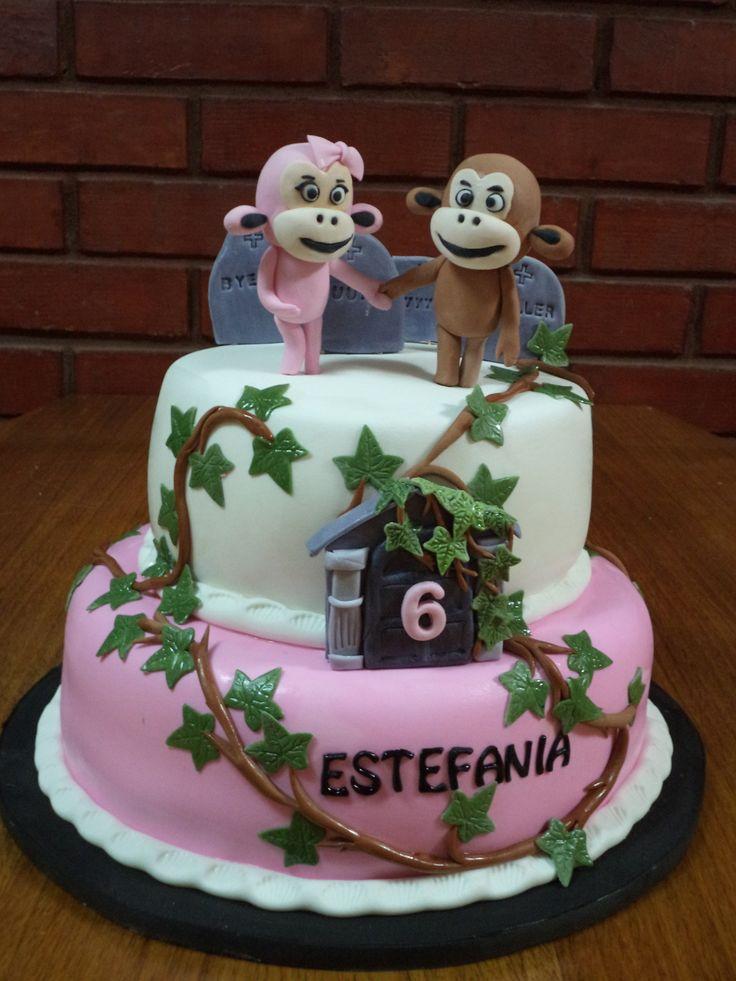 #thriller Fondant cake creada por Volovan Productos  Puna Areans Chile