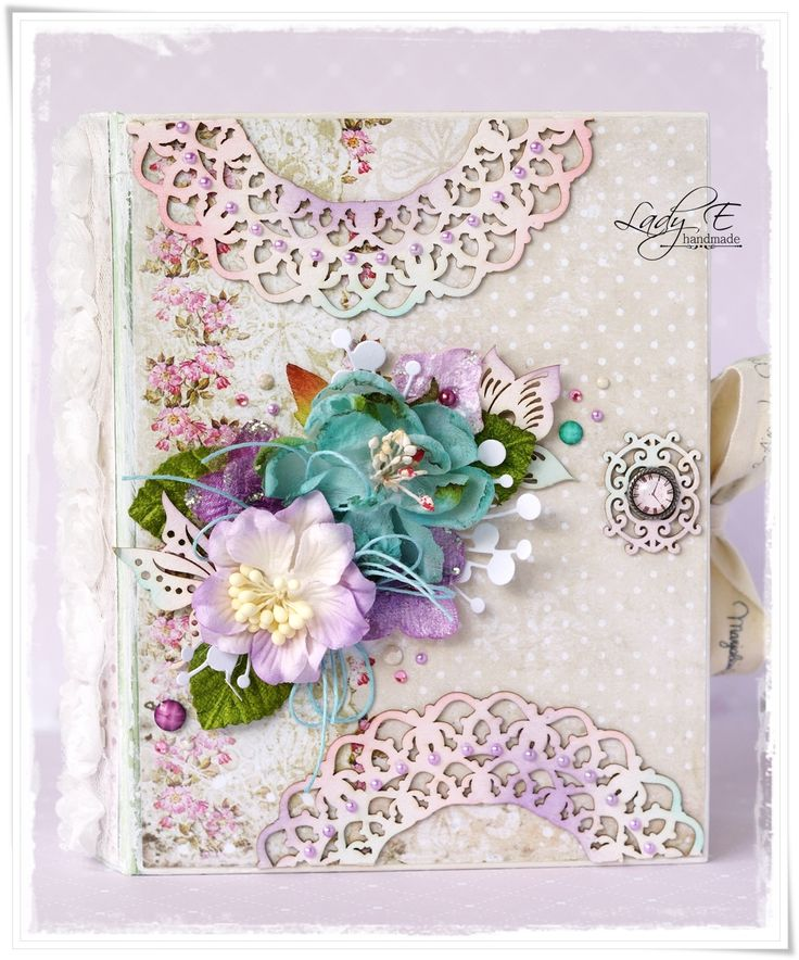 Scrap Art by Lady E: Book Box Part #1 - Scrapiniec DT project