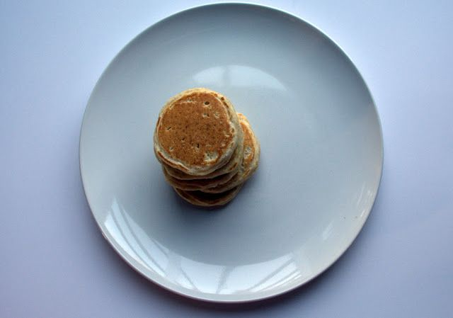 Red Fife Pancakes- golden brown perfection! #yegfood #pancakes #healthy