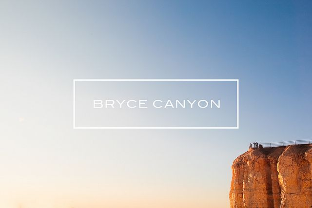 Bryce Canyon / Jennifer Chong #pintermission