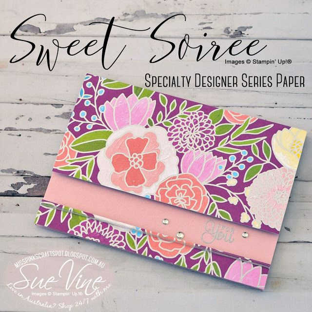 Miss Pinks Craft Spot: Stampin' Dreams - What's your favourite DSP?