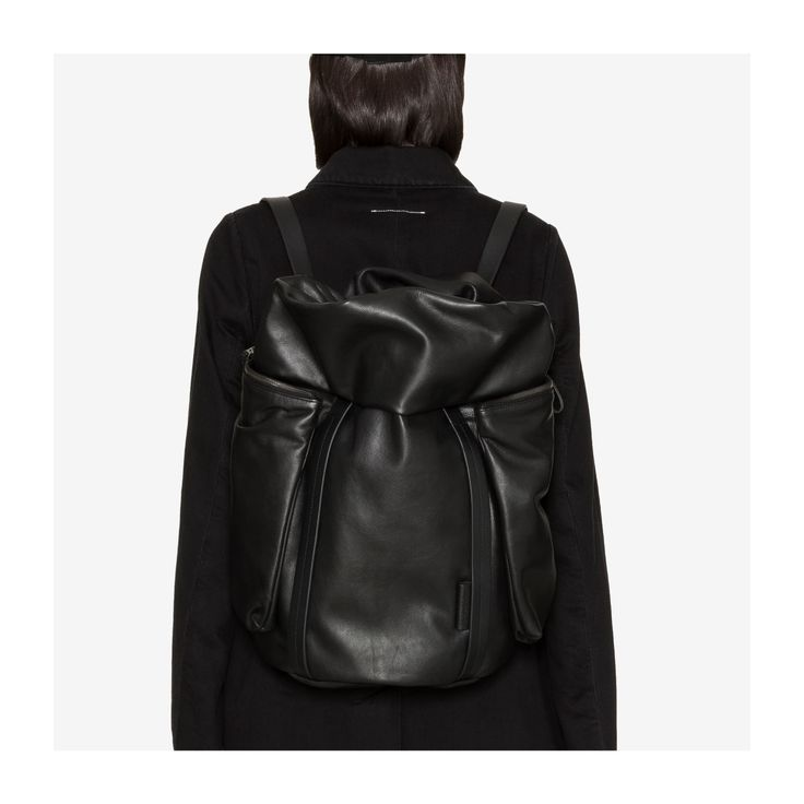 """School of Life. Doubling as tote and backpack, the Saar medium waxed canvas from côte&ciel  is fashioned from a hardwearing agate black leather that only improves with age. With a design that's reminiscent of a Japanese grade schoolers's  randoseru, (which comes from the Dutch word """"ransel,"""" or """"backpack,"""" ) these modern versions are more likely to house a laptop than a bento box"""