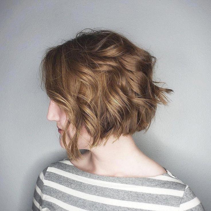 bob-hairstyles-2020 #bobhairstyles #choppybobhairstyles