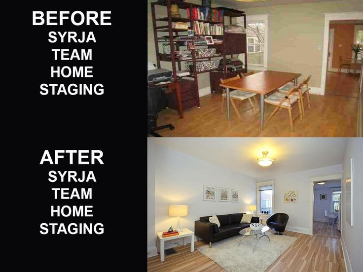 What Syrja Team does during FREE Home Staging.  www.syrjateam.com