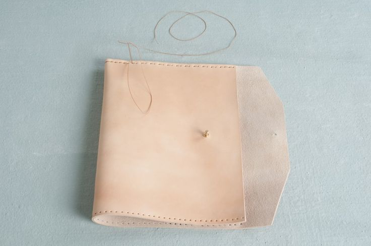 DIY leather iPad cover - Bthings.me