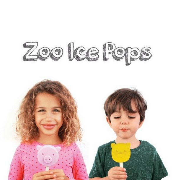 Go wild with these frozen buddies! Make your own ice cream with your favorite flavor..