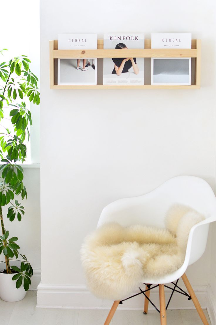 DIY Magazine Shelf | Burkatron