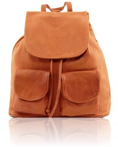 SEOUL TL141507 Leather backpack Large size