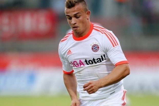 Xherdan Shaqiri adds 1 goal and 2 assists in 4-0 win over Regensburg / German Cup, Round 1