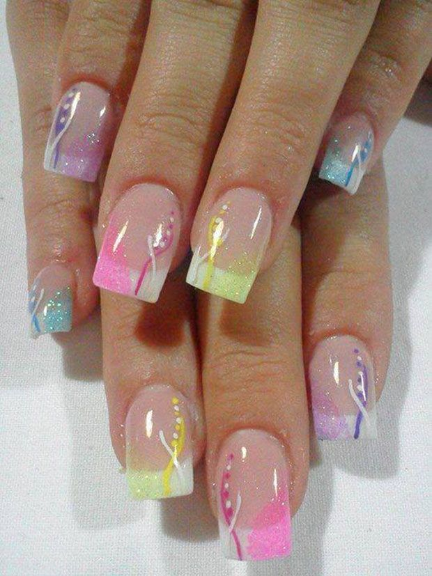 #nailart Home Manicure Ideas. For nail colors visit my Nail board for link to my online shop