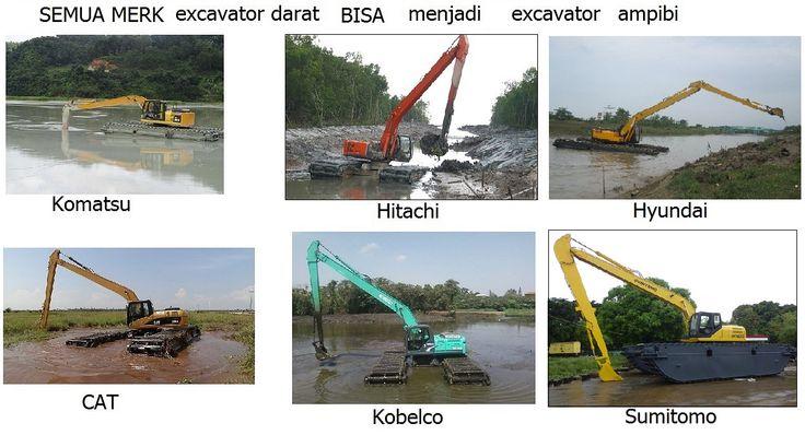 ultratrex 081241346651 JUAL dan RENTAL amphibious excavator / swamp excavator, excavator rawa-rawa, swamp beko, excavator amphibi.  jual pontoon undercarriage yang berguna untuk menjadikan excavator darat menjadi excavator amphibi atau swamp excavator atau excavator rawa-rawa, floating excavator. Swamp backhoe cocok untuk pengerukan lahan tanah gambut, empang, tambak, danau, sungai, pantai. HP: 081241888131 Email: lathif@ultratrex.co.id