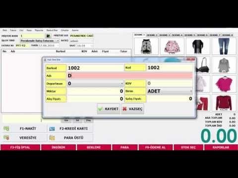 Barkod programı-Mağaza Programı ve Barkod Sistemi