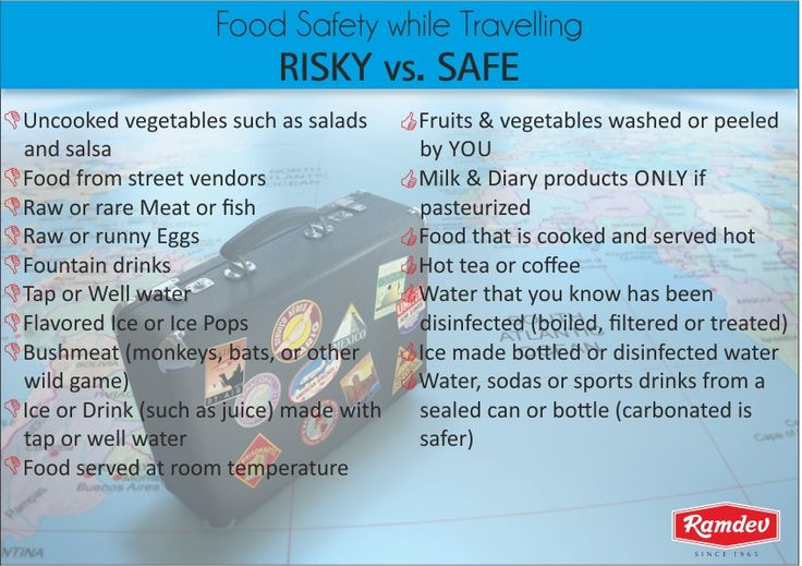 Follow this #FoodSafety Tips while #Traveling