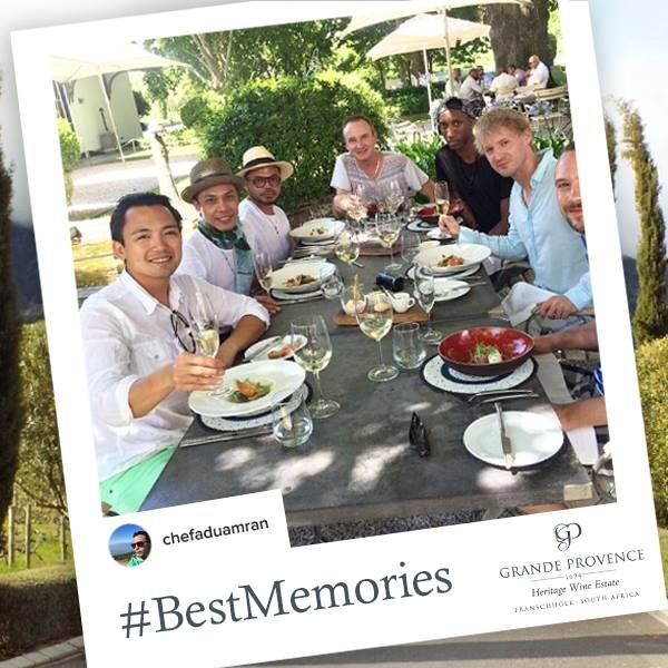 We'd like to hear about your experience at Grande Provence. Post a photo on Instagram and hashtag #GrandProvence and #BestMemories. We look forward to seeing you.