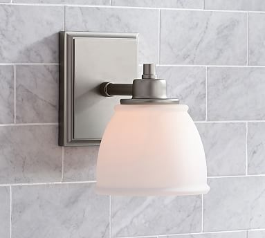 Bathroom Light Fixtures Pottery Barn 174 best *bath > sconces* images on pinterest | bathroom ideas